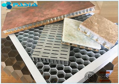 perforated mm side length aluminum honeycomb core ceiling composite board