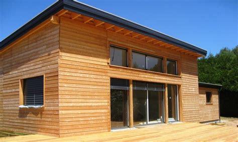 architecture bois aquitaine construction maison bois ile de constructeur maison bois