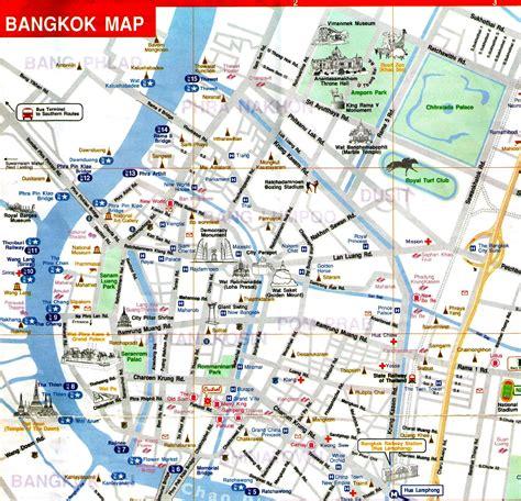 map  bangkok thailand
