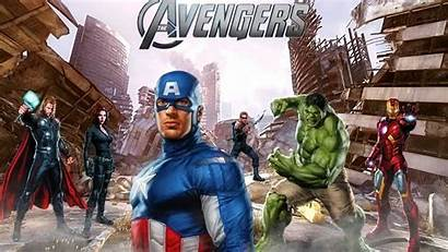 Avengers Wallpapers Marvel Backgrounds Vector Psd