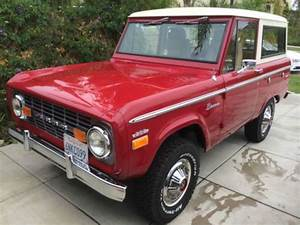 Find Used 1971 Restored Early Ford Bronco 4x4 Suv In