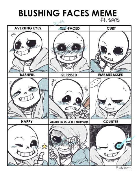 Sexy Face Meme - blushing faces meme by piikoarts on deviantart