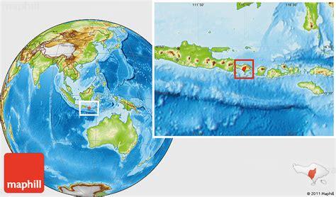 physical location map  kab tabanan