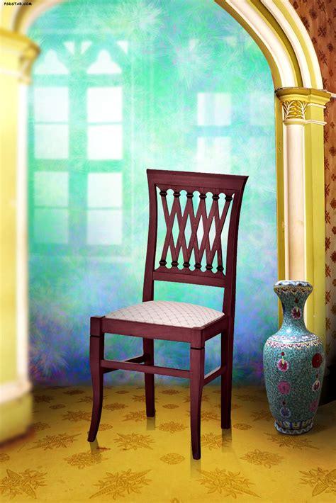 studio background effect photoshop  chair scaledjpg
