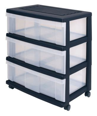 Office Drawers On Wheels by Wide Drawers Storage Drawers With 3 Drawers Plastic