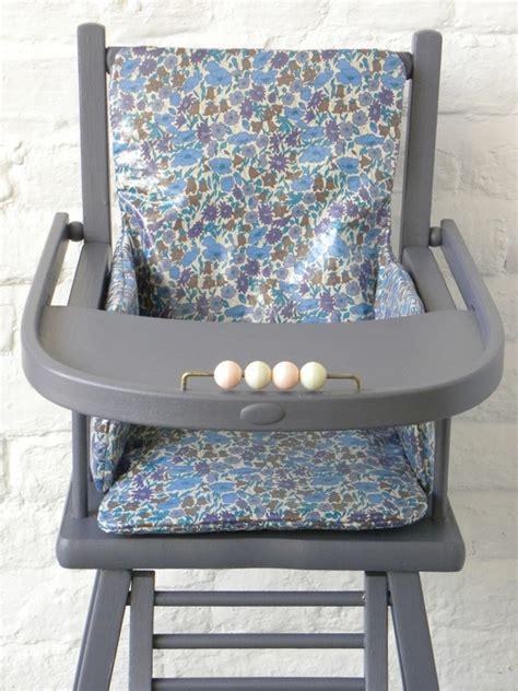 coussin liberty pour chaise haute pu 233 riculture par