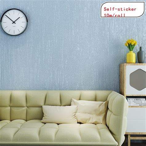 mroll  adhesive stick  print embossed wallpaper