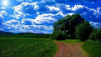 Summer Wallpapers Nature Desktop Resolution Widescreen Sky