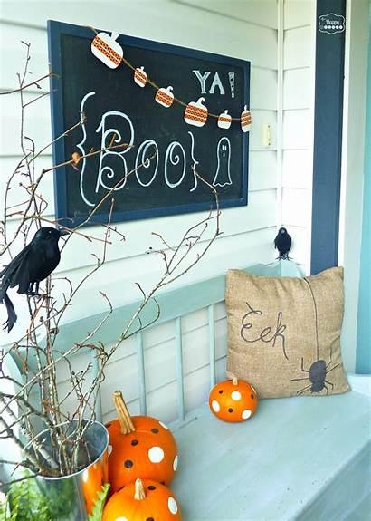 Halloween Porch Diy Scary Decoration Outdoor Spooky
