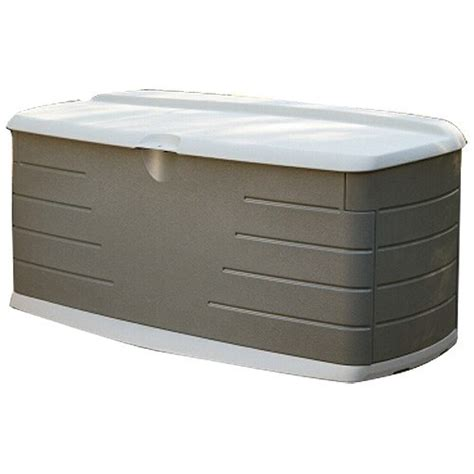 rubbermaid patio storage containers rubbermaid large horizontal 12 cu ft outdoor storage deck