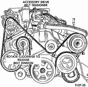 2008 Dodge Avenger Belt Diagram