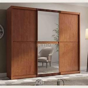 Armoire Chambre Porte Coulissante : armoire dressing porte coulissante ~ Teatrodelosmanantiales.com Idées de Décoration
