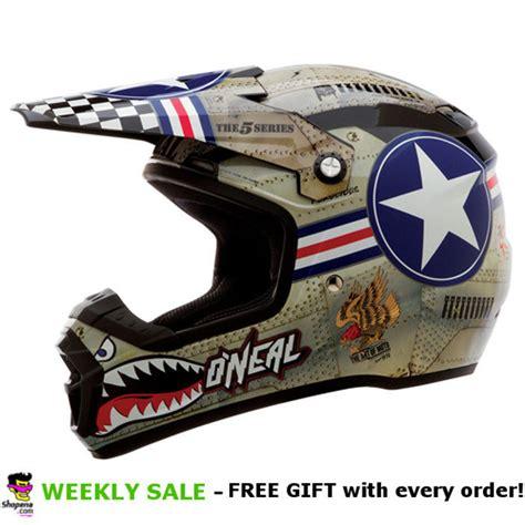 oneal motocross helmets o 39 neal 5 series wingman motocross helmet usa flag dirt