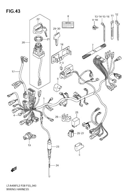 Arctic Cat Atv Wiring Diagram Parts