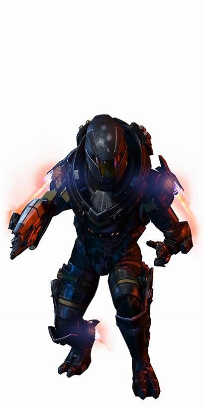 Turian Havoc Soldier Mass Effect Multiplayer Soldat