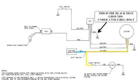 04 yamaha road warrior wiring diagram warrior 350 cdi