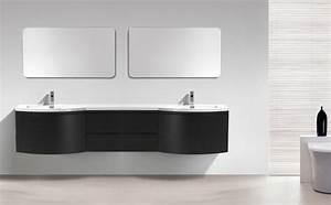 ensemble de meubles de salle de bain laurance 2400 noir With meuble salle de bain noir mat