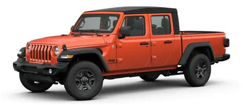 jeep gladiator paint color options
