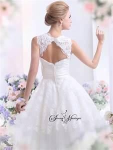 Robe De Mariee Courte : 1000 images about mariage robe on pinterest manche 1920s and robes ~ Preciouscoupons.com Idées de Décoration
