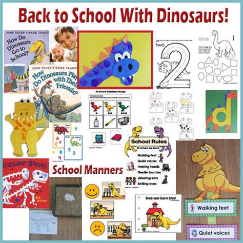 back to school with dinosaurs kidssoup 954 | btswd theme