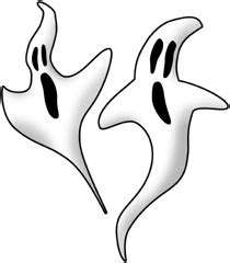 ghost clipart clear background pencil   color ghost