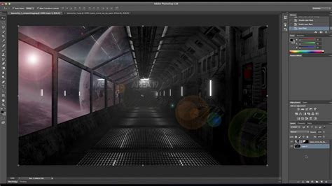 Blender Speed Modeling  Spaceship Interior Ver2 Youtube