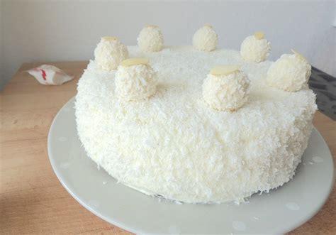 la cuisine de micheline raffaello cake gâteau raffaello la cuisine de micheline