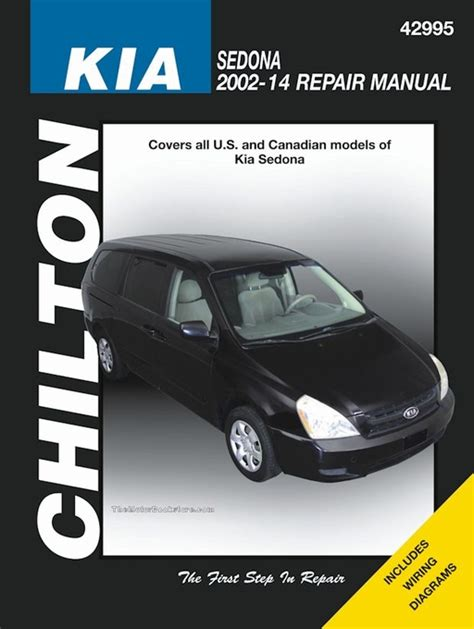 chilton car manuals free download 2007 nissan altima parking system kia sedona chilton service repair manual 2002 2014 42995