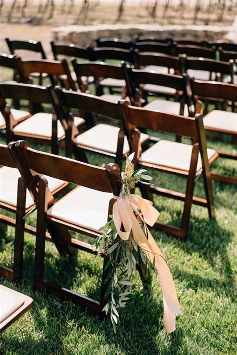 wooden folding chairs outdoor wedding ceremonies and