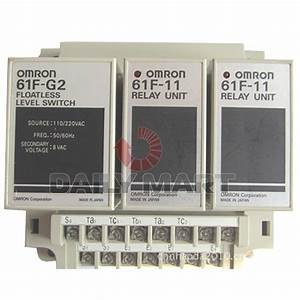 New Omron 61f 220vac 61f Floatless Level Controller