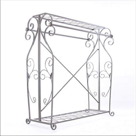 decorative garment rack decorative grey steel iron garment coat rack y009d
