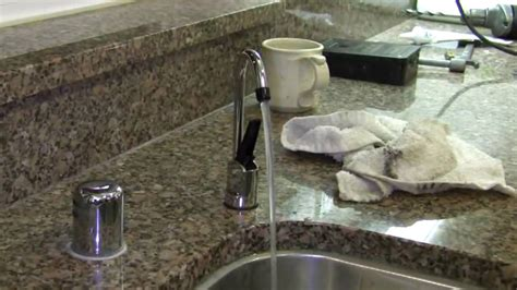 kitchen faucet with filter how to install an undersink water filter
