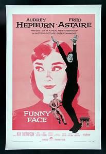 Audrey Hepburn Poster : funny face cinemasterpieces audrey hepburn pink original movie poster 1957 ebay ~ Eleganceandgraceweddings.com Haus und Dekorationen