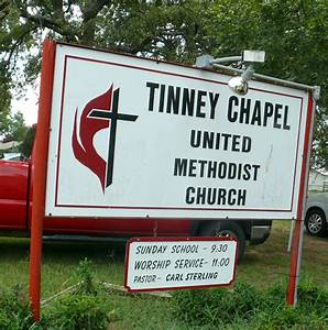 Tinney Chapel Today: Brother Carl Sterling Preaches: Who ...