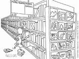 Store Drawing Coloring Pages Getdrawings sketch template