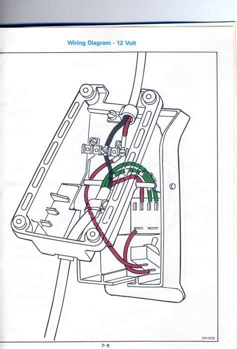 trying to repair a friends 1986 trolling motor jbf2b the wiring in the foot