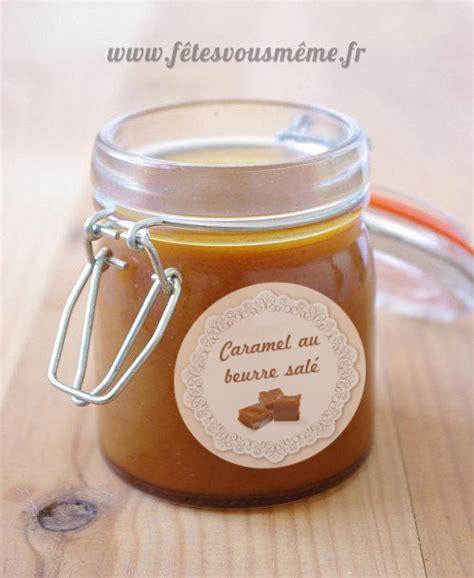 caramel beurre sal 233 et 233 tiquette en cadeau f 234 tes