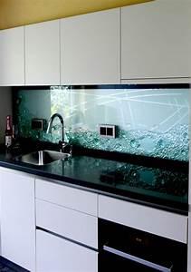 Kuchenruckwand projekte jostmann glasmalerei for Küchenrückwand