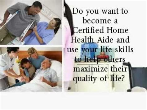 Home Health Aides by Become A Certified Home Health Aide In Nj