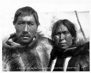 File:Eskimo man and woman, A-Pa-Look and Wy-Ung-Ena, Cape ...