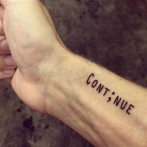 Tatouage 3 Points : qual o significado das tatuagens de ponto e v rgula ~ Melissatoandfro.com Idées de Décoration