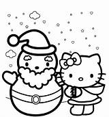 Coloring Winter Pages Kitty Hello Themed Colouring Printable Sheets Clipartmag Getcolorings Season sketch template