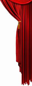 Curtain picture transparent, isolated background free