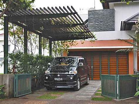 canopy carport baja ringan minimalis carport rumah