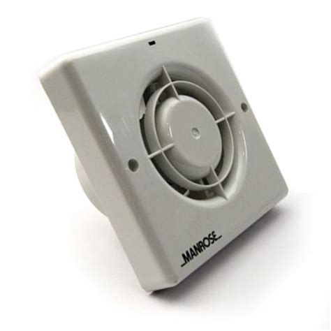 bath fan with humidistat manrose 100mm bathroom extractor fan w timer humidistat