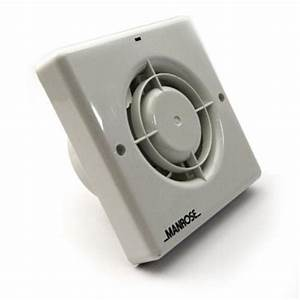 Manrose 100mm Bathroom Extractor Fan Withtimer Xf100t
