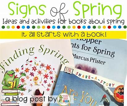 Spring Beginning Signs Stories Grade Thing Sign