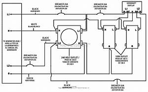 Homelite Bm905701p 5700 Watt Generator Parts Diagram For