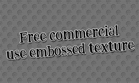 freebie: commercial use embossedtexture HG Designs