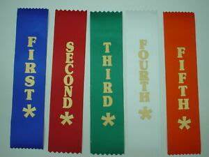 1st 5th Place Award Ribbons for Clubs Event Schools | eBay